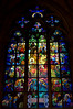 Window designed by Alfonse Mucha for St Victus Cathedral in Prague.